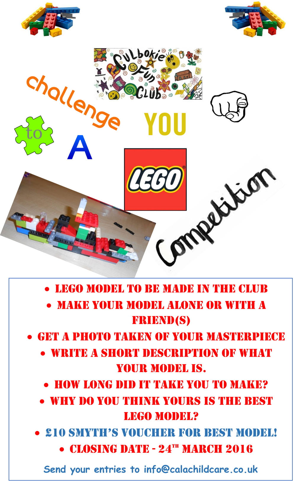 CALA Lego Building Challenge - Care and Learning Alliance
